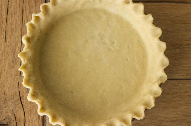 Vegan Coconut Oil Pastry Pie Crust