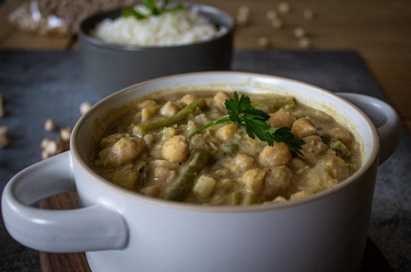 Chickpea and Tahini Stew